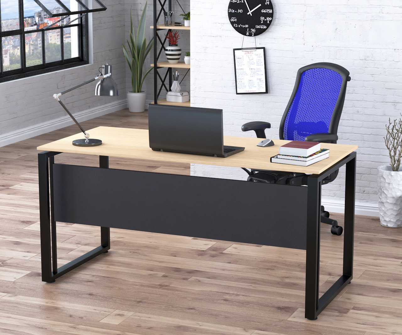 Письмовий стіл G-160-16 Loft Design Дуб Борас