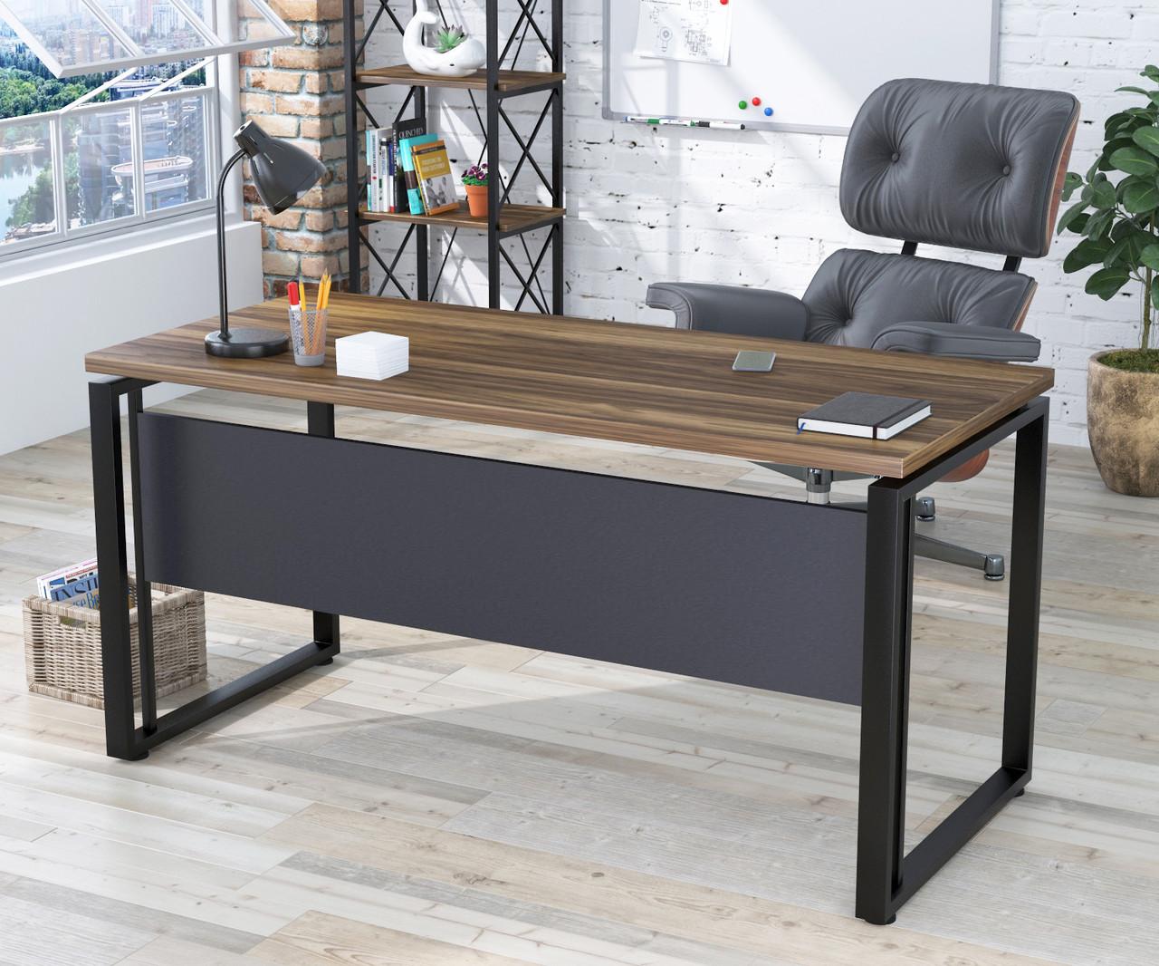 Письмовий стіл G-160-32 Loft Design Горіх Модена