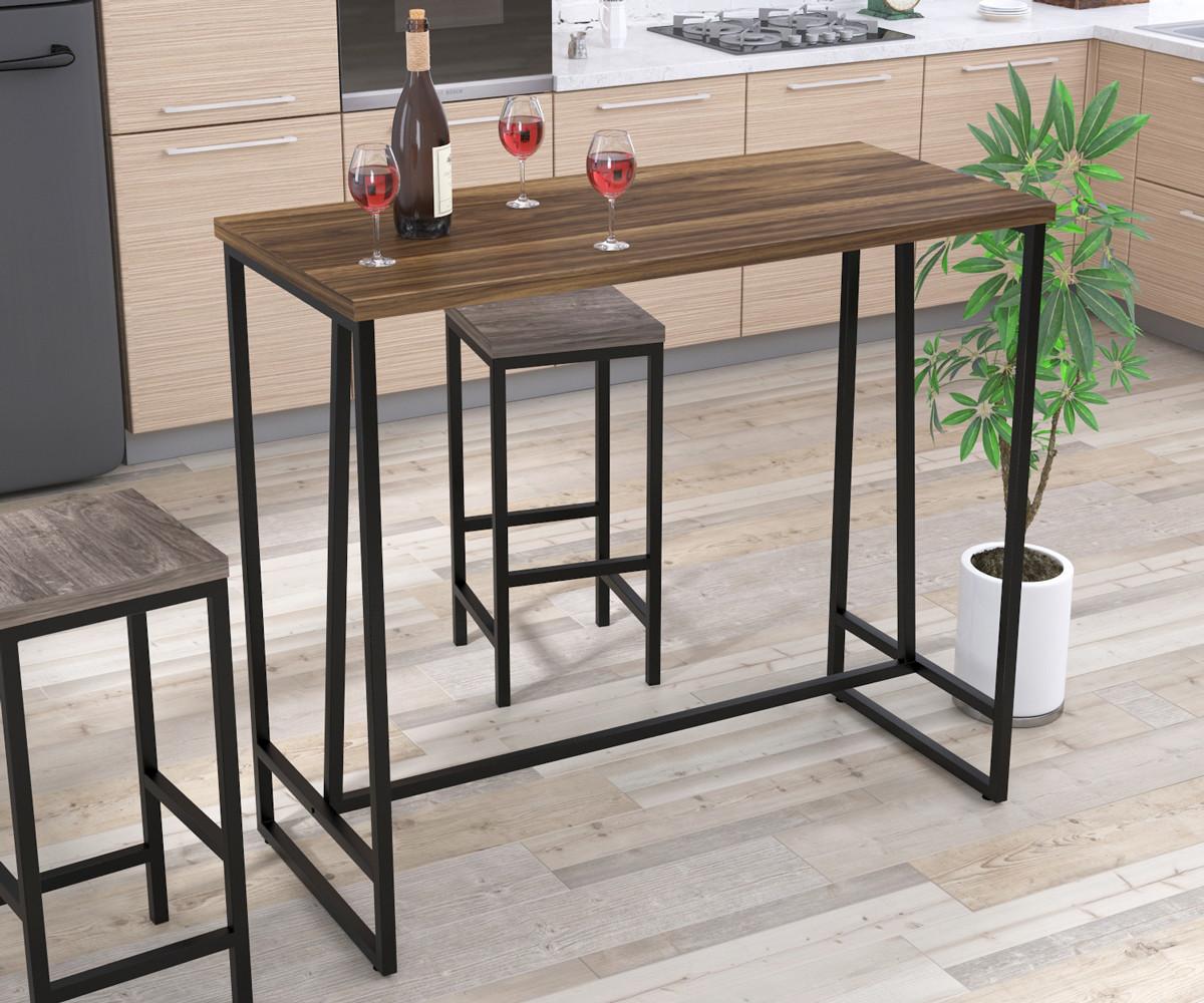 Барний стіл BS-125 Loft Design Горіх Модена