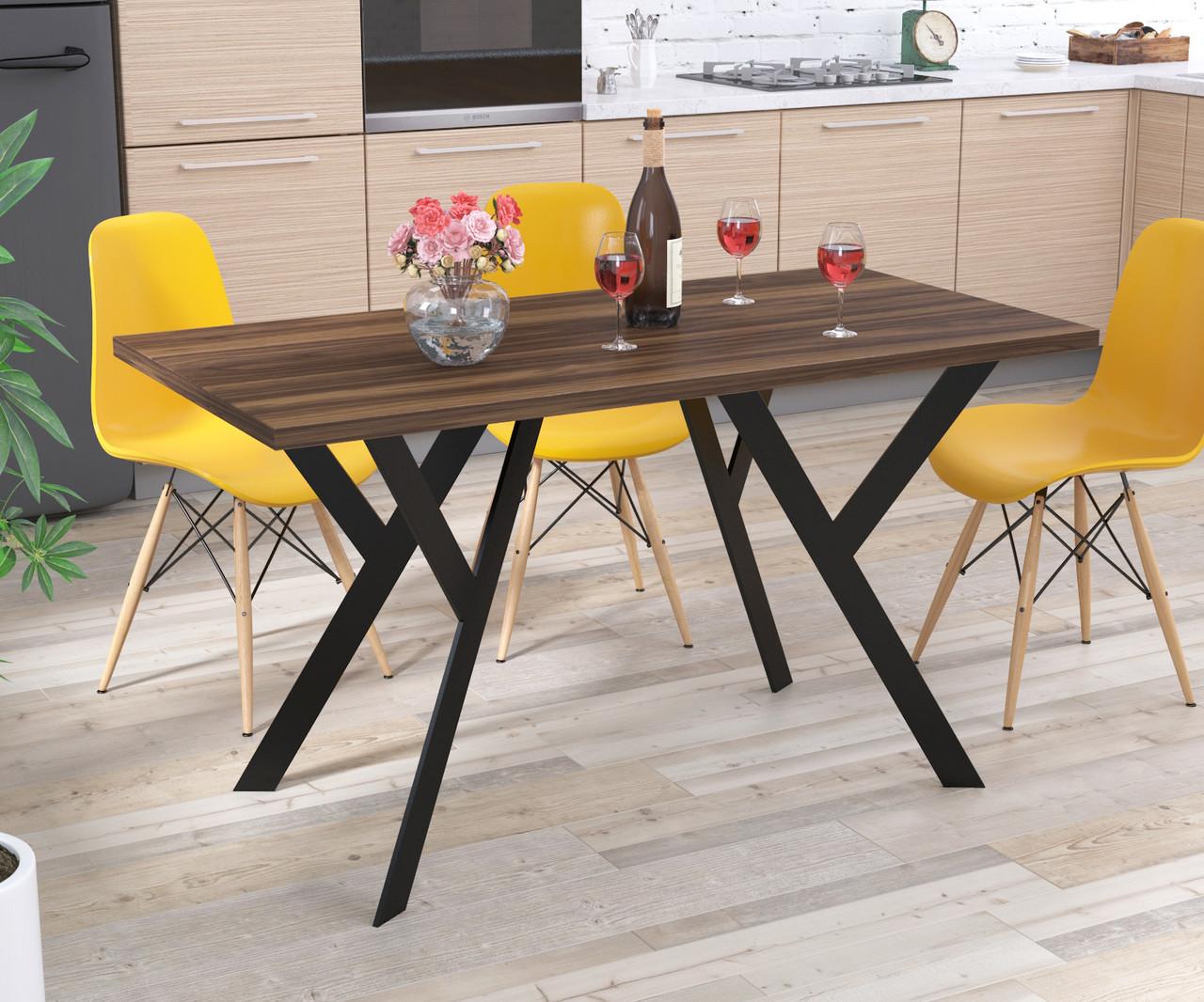 Стол обеденный Ишла Loft Design Орех Модена