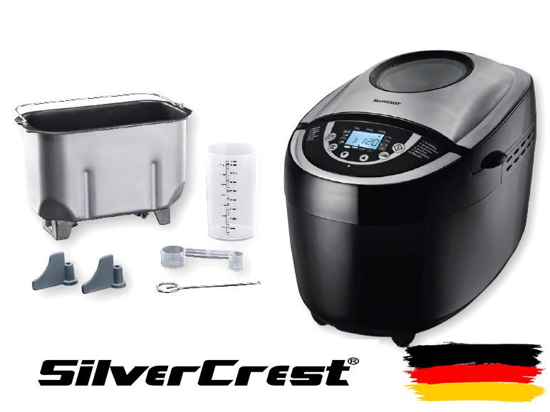 Хлібопічка, хлібопічка SilverCrest 12 програм випічки (Німеччина)