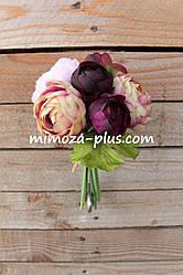 Искусственные цветы - Камелия пучок, 25 см