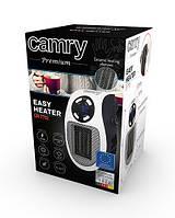 Портативний міні обігрівач Camry CR 7712 - Easy heater тепловентилятор в розетку макс потужність 700вт