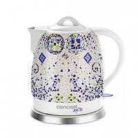 Керамический электрический чайник в восточном стиле Concept RK-0020