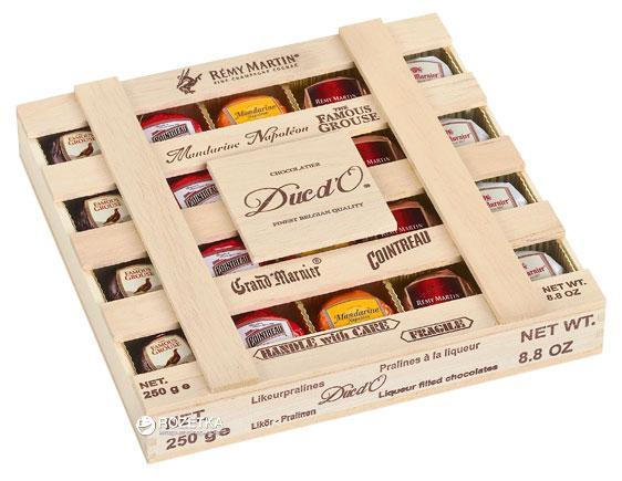 Шоколадные конфеты Duc d'O Remy Martin Liquer Filled Chocolate 250 g