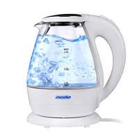 Электрически чайник стеклянный Mesko MS 1245 1,5 литр