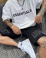 Мужская оверсайз футболка Essentials белая