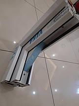Трехстворчатое ПВХ окно Veka EuroLine с фрамугой, фото 3