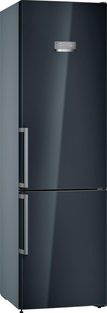 Холодильник з морозильною камерою Bosch KGN39MBER