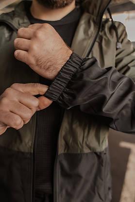 "Чоловіча весняна куртка хакі-чорна Intruder ""SoftShell Lite"", фото 3"