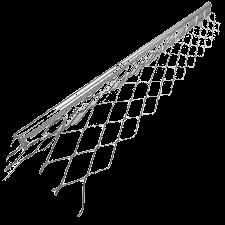 Уголок алюм. штукатурный 3,0 м (0,50мм)