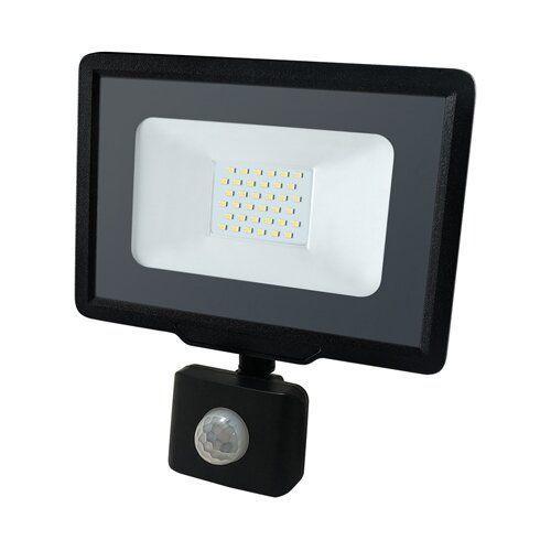 Світлодіодний прожектор BIOM 30W S5-SMD-30-Slim+Sensor 6200К 220V IP65