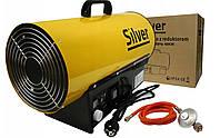 Газовая тепловая пушка с термостатом  SILVER 40KW, фото 1