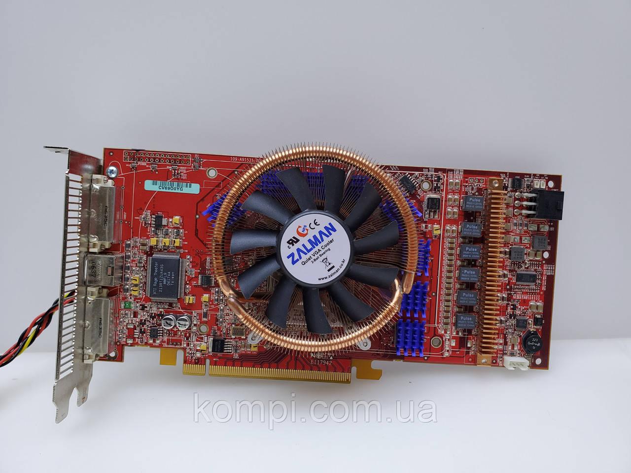 Видеокарта ATI RADEON X1950 XTX 512MB / 256 BIT PCI-E