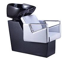 Перукарська мийка для салону TOMAS SILVER