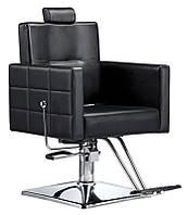Перукарське крісло на гідравліці з підставкою POLLX