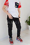 Яркие трендовые футболки для мальчиков 158-170см, фото 5