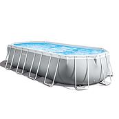 Каркасный бассейн Intex, размеры 610-305-122 см, емкость 18 000 л