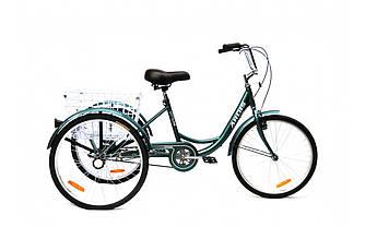 Велосипед грузовой ARDIS CITY LINE 24 CTB ST Зеленый