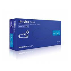 Перчатки нитриловые Mercator Medical Nitrilex basic