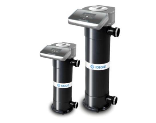 Система УФ очистки воды VEGA -14 IDEGIS в частном бассейне