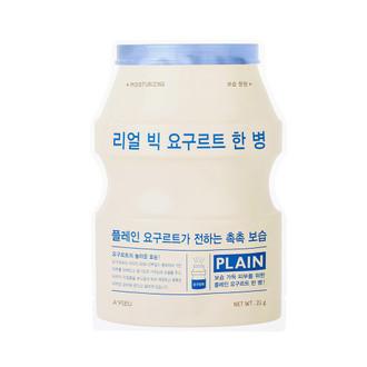 Натуральная йогуртовая тканевая маска Apieu Real Big Yogurt One Bottle Plain