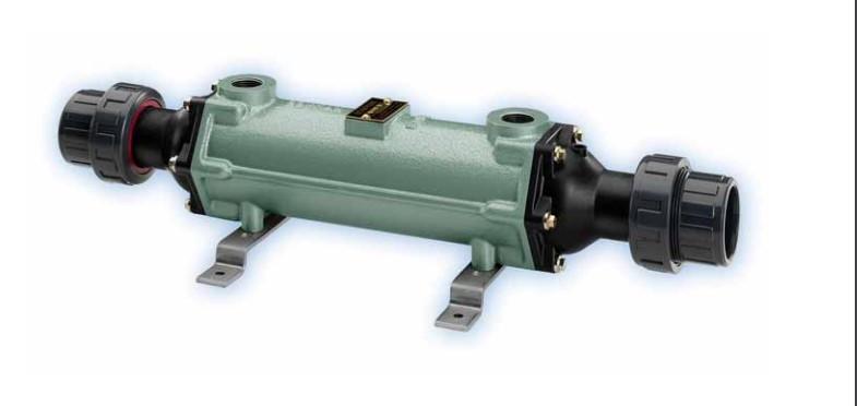 Теплообменник для бассейна Bowman 100 кВт трубчатый, разборный корпус