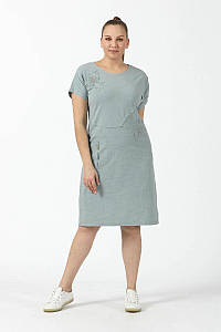 Платье New Color 2889 серый