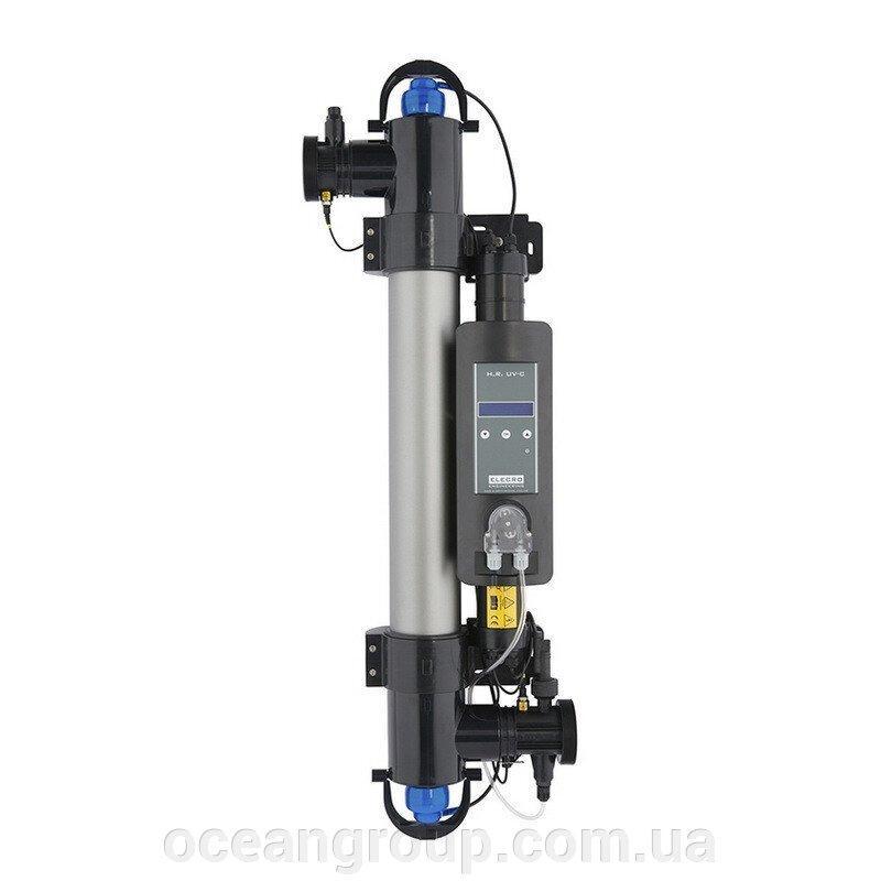 Ультрафиолетовая установка Elecro Steriliser UV-C HRP-55-EU + DLife indicator + дозирующий насос для бассейна