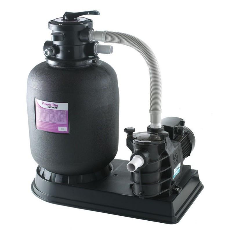 Пісочна фільтрувальна установка для басейну Hayward PowerLine 81073 (14 м3/год, D610) Насос фільтр