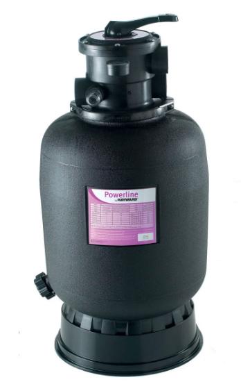 Пісочний фільтр для басейну Hayward PowerLine 81101 (6 м3/год, D401).Бочка для грубого очищення води