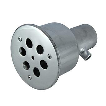 Форсунка гідромасажна 6x18 45м3/год нержавіюча (AISI 316L) для басейну
