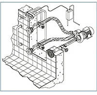 Гідромасажна установка для басейну Hugo Lahme на 2 форсунки, комплект. 20м3/год