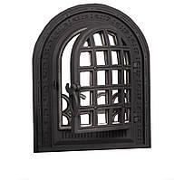 Чугунная печная дверца - VVK 36 х 43 см/28х39см