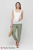 Свободные летние брюки из штапеля для беременных Biom TR-21.032 Юла мама