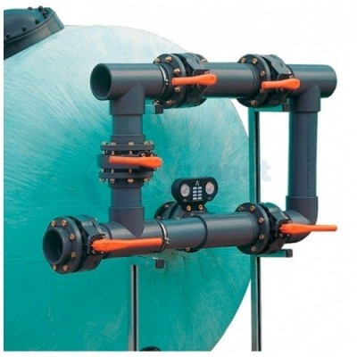 5-ти крановая обвязка фильтра для бассейна, D140 мм Fluidra Испания
