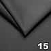 Велюр TRINITY стьобаний темно-сірий «Ромб» (прошитий св. сірою ниткою поролон, синтепоном і флізеліном шир, фото 2