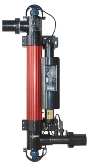 Ультрафиолетовая установка Elecro Quantum Q-65 для дезинфекции воды. Ультрафиолет для бассейна