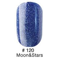 Гель-лак Naomi № 120 Moon&Stars 6 мл