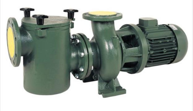 Центробежный насос с префильтром Bombas Saci CF-2 550, 77 м3/ч (12 м вод. столба), 4 кВт, 380 В