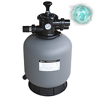 Фільтр для очищення води басейну Emaux P500. Пропускна здатність до 10 м3/год