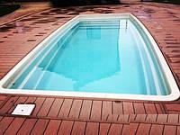 Бассейн композитный Favorit 7,6 х 3,5 х 1,5м, фото 1