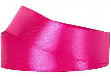 Стрічка атлас 1,8смх22м рожевий №MX62186-14(8)