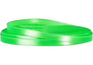 Стрічка атлас 0,5смх22м салатова №MX62147-52