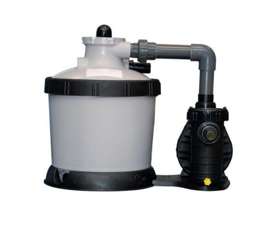 Фильтрационная установка для очистки воды в бассейне BWT P-GFI 400, 4 м3 / ч, серый.