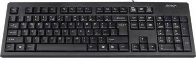Клавиатура A4tech KR-83 Black USB, фото 2