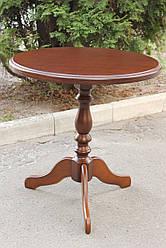 """Круглий стіл """"Одисей"""" d=68см (темний горіх) від Мікс Меблі"""