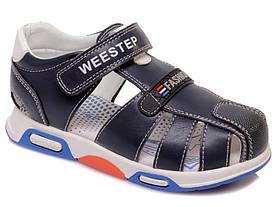 Сандалі дитячі для хлопчика Weestep синій колір розмір 27-31  (923150535)