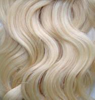 Натуральные Славянские Волосы Cold Blonde 55 cm, фото 1