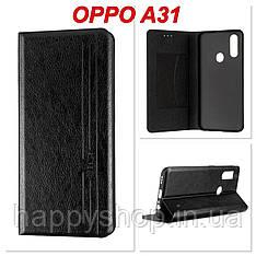 Чохол-книжка Gelius Leather New для OPPO A31 (Черный)